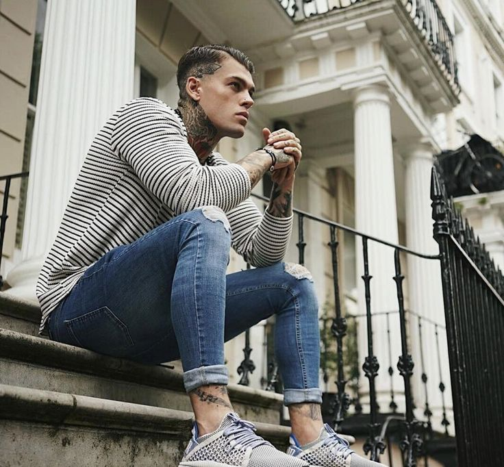 Statement Denim - #hera #heralondon #streetstyle #streetwear #menswear #denim #stephenjames