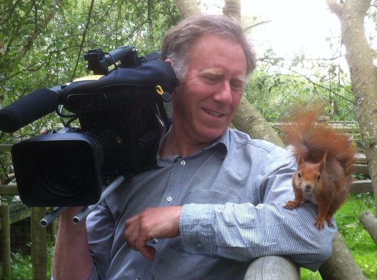 May 14, 2014: ‏twitter @Samuels_John   Filming at the British Wildlife Centre today for the next Tractor Ted DVD. Isn't this red squirrel beautiful? The new film (18th dvd) will be out in Autumn.
