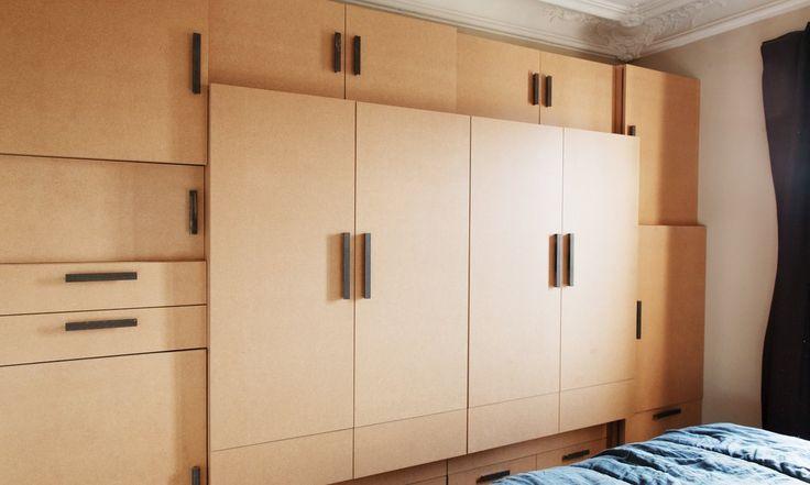 Rangement chambre Design par mua-studio Bénédicte de Raphélis Soissan Créatrice de Clustree