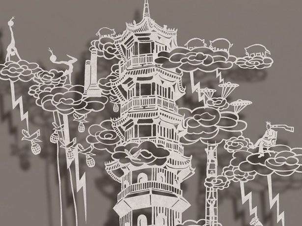 Best Paper Cut Images On Pinterest Drawing Art Projects And Fit - Incredible intricately cut paper designs bovey lee