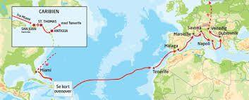 Kryds Atlanterhavet på et transatlatisk krydstogt Krydstogt guide del 2. – Destinationer – Eventyrrejser