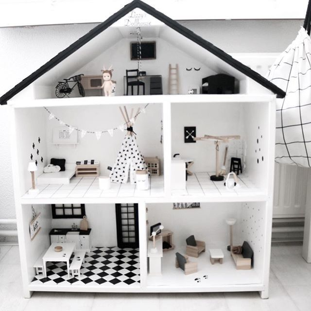 Best 25 diy dollhouse ideas on pinterest homemade for Barbiehuis meubels