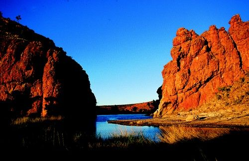 Glen Helen Gorge, near Alice Springs, Northern Territory