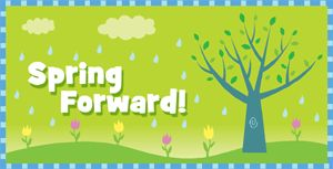Daylight Savings Time   March 13 – Daylights Savings Starts – Spring Forward Daylight Saving Time (United States) 2016 begins at 2:00 AM on Sunday, March 13. Remember to set your clocks forward one hour this weekend.  #ICONEarlyPhaseServices #DaylightSavings #Diabetes