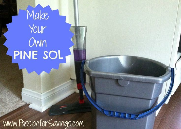 Like Pine Sol but not the harsh chemicals? Find out how to make your own Pine Sol!