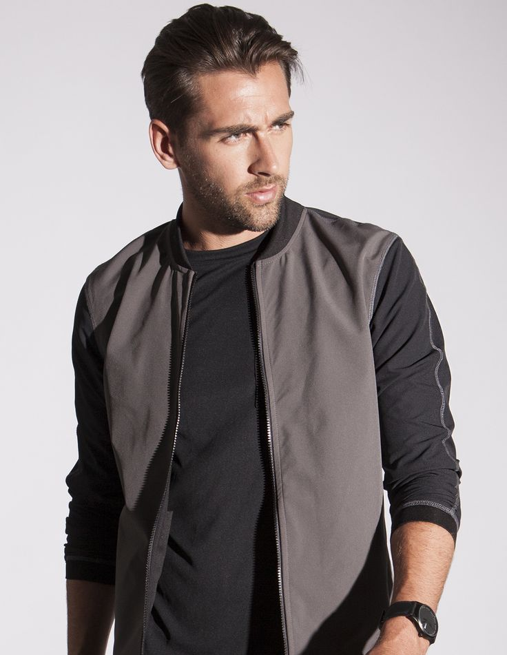 Water and wind proof bomber jacket. Made in Canada and super versatile
