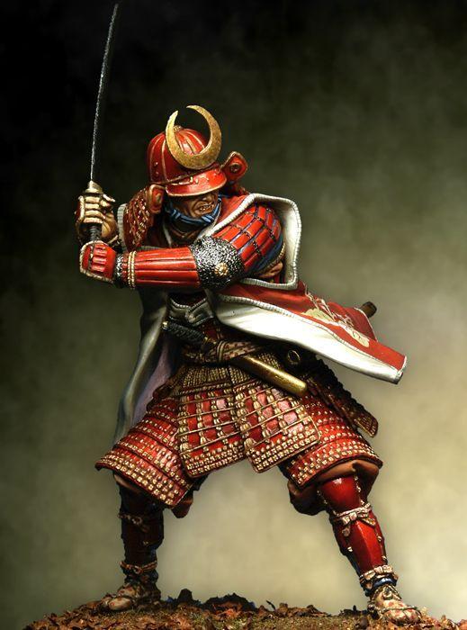 samurai armor | Samurai in full armour