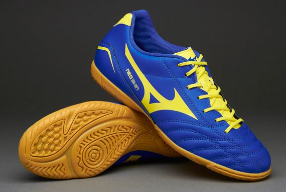 Mizuno Football Boots - Mizuno Morelia Neo Shin Indoor - Soccer Cleats -  Dazzling Blue-Bolt-White | Chuteiras | Pinterest | Indoor soccer cleats, ...