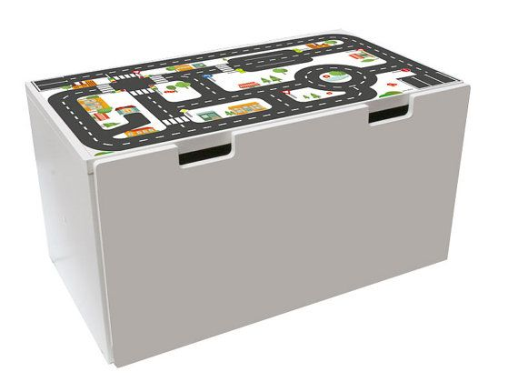 play table for your kids room furniture sticker small city for ikea stuva 1m st01 05 furniture not included