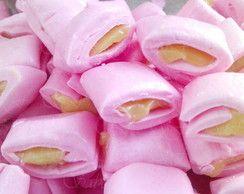 Balas de coco - Recheadas -Rosa maracujá //  #comprar #elo7 #baladecoco #balarecheada #balagelada #festas #casamento #eventos #buffet #maternidade #chadefrauda