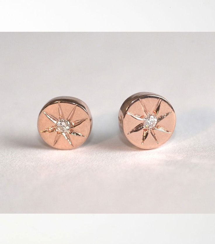 rose gold and diamond Arielle stud earrings available exclusively @CatbirdBeautiful Earrings, Diamonds Earrings, Stars, Arielle Studs, Studs Earrings, Diamond Earrings, Gold Earrings, Gold Studs, Rose Gold