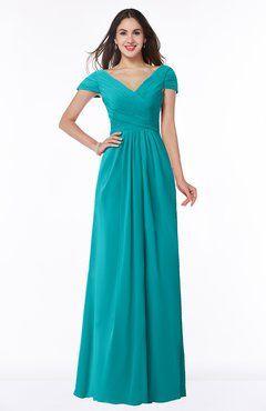 Dark Teal Plus Size Bridesmaid Dresses