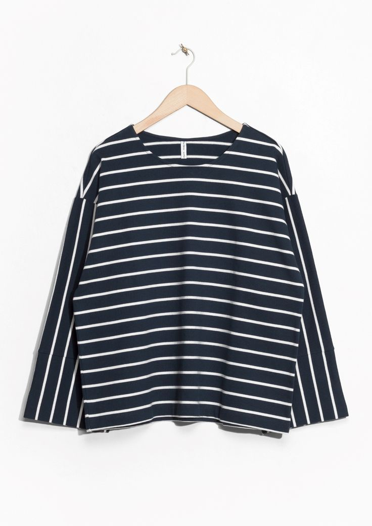& Other Stories | Striped Cotton Longsleeve