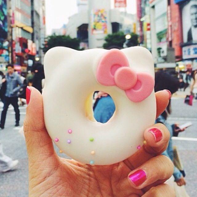 Hello Kitty Donut