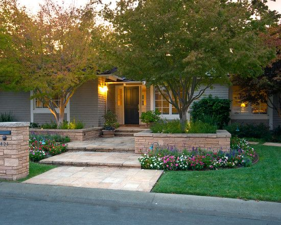 Landscaping Around A Group Of Trees : Ideas page landscaping front yard