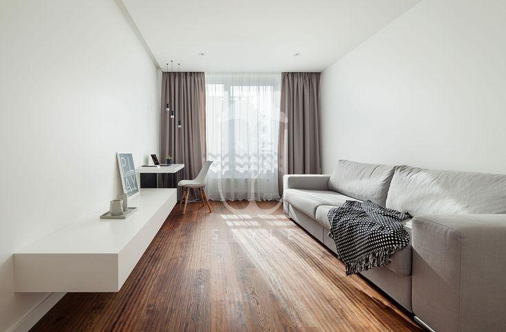 Есть в этой квартире и гостевая комната, которая впоследствии может легко трансформироваться в детскую.