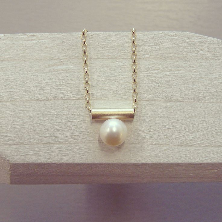 Rachel Swan Goldsmith 9ct Gold & Pearl Pendant