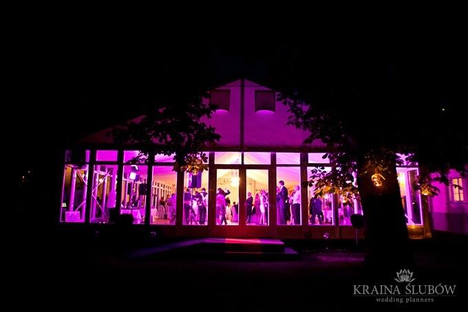 Wedding reception / Kraina Ślubów / fot. Ewa Wardęga
