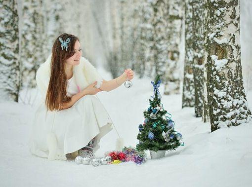 7 оригинальных концепций для фотосессии зимой | Уроки фотографии