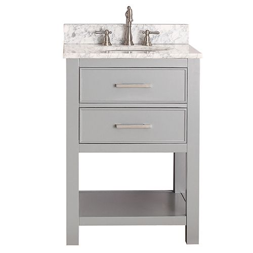 Photo Gallery For Website Avanity Brooks Chilled Gray Inch Vanity Only