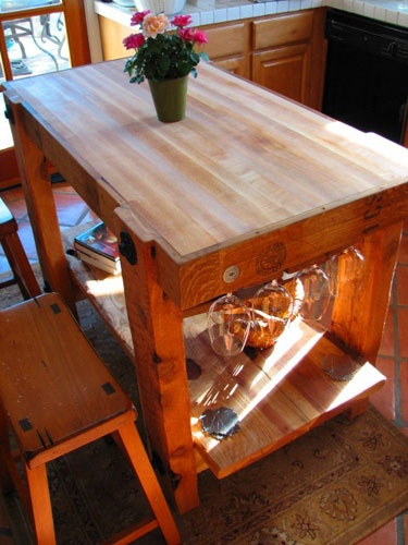 Butcher Table For Craft Room