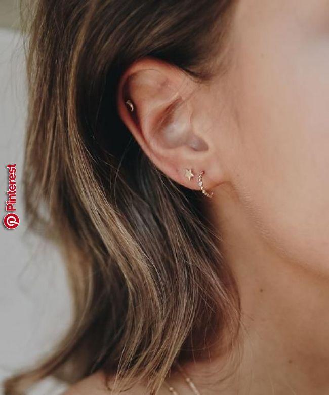 f46f60915 Tiny Star Earrings | style in 2019 | Pinterest | Earrings, Jewelry and  Piercings