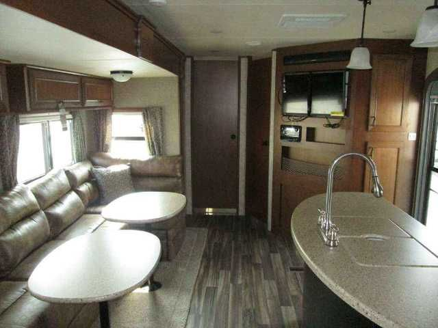 2016 New Highland Ridge The Light 308BHS Travel Trailer in Oklahoma OK.Recreational Vehicle, rv, 2016 The Light 308BHS 2 Bedrooms - Outside Kitchen Awesome Family Floorplan or Tail-Gater. Three Slides, Two Bedrooms, Two Air Conditioners, Power Awning With LED Lights, Power Tongue Jack, BBQ Grill, Outside Kitchen, Four Seasons Package, Party Room Package, French Door To Bunkroom, LED Television, Huge Bathroom With Shower Enclosure, Ladder, Too Much To List! MSRP - $47,421. Our Price…