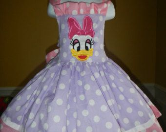 Daisy Duck Bow Dress 12m - 10