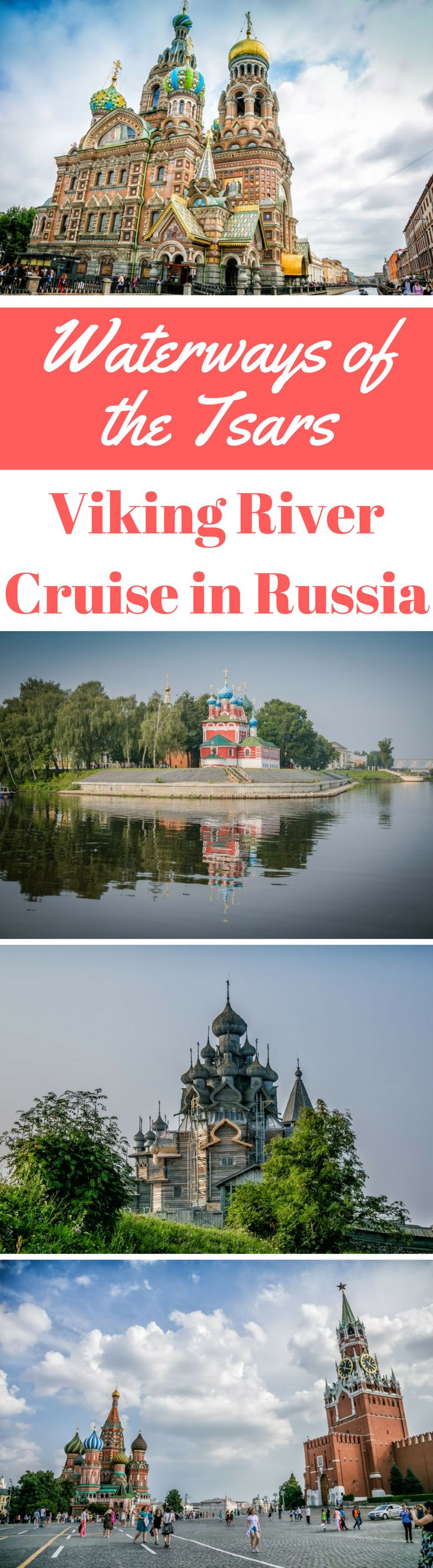 Waterways of the Tsars – Viking River Cruise in Russia. Let us take you through northwest Russia as we start our journey in historical St Petersburg and spend 13 days cruising the Volga River before landing in Moscow with Viking River Cruise. Click to read more by the Divergent Travelers Adventure Travel Blog, America's Adventure Couple. #Russia #Travel #Moscow #Stpetersburg #VikingRiverCruise #Cruise