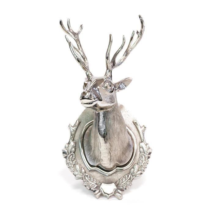 Aluminum Lodge Deer Head
