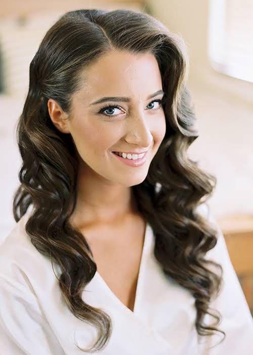 Awe Inspiring 1000 Ideas About Simple Wedding Hairstyles On Pinterest Half Up Short Hairstyles Gunalazisus