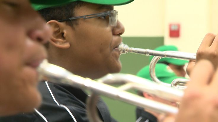 Sam Houston High School was chosen by U.S. Senator John Cornyn to perform at the National Memorial Day Parade in Washington D.C.