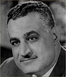 Gamal Abdel Nasser Hussein ~ second President of Egypt from 1956 until his death. A colonel in the Egyptian Army, Nasser planned and led the Egyptian Revolution of 1952, which overthrew the monarchy of Farouk