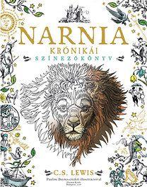 C. S. Lewis: Narnia krónikái - Színezőkönyv - Pauline Baynes eredeti illusztrációival