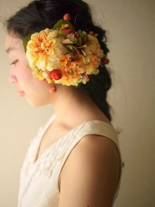 花嫁和装用髪飾り