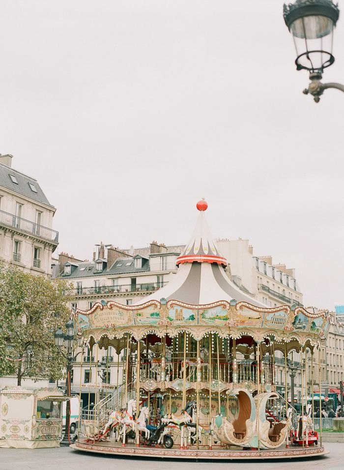 Carousel in Paris France | photography by http://brittanymahood.com