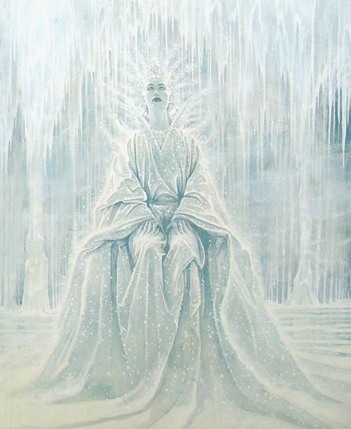 çizgili masallar: The Snow Queen by PJ Lynch