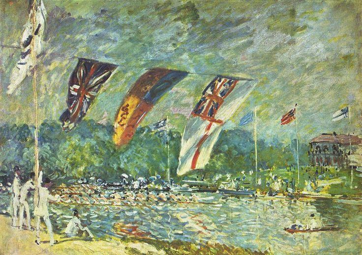 Alfred Sisley - Les Régates à Molesey