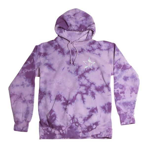982aedf5d This UNISEX 'Tie-Dye Blow Pony Hoodie' is a custom garment and crystal