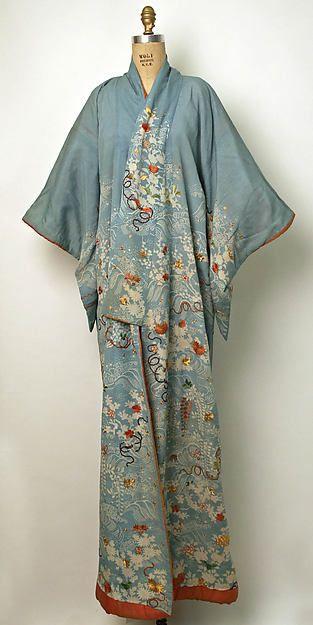 Kimono (image 1)   Japan   19th century   silk   Metropolitan Museum of Art   Accession Number: C.I.53.22.9