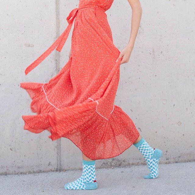 Spike flower socks. HOP Socks. www.hopsocks.com