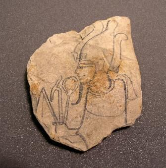 Ancient Egyptian sketches