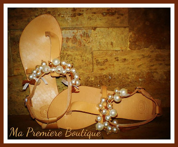 Handmade Greek sandals Χειροποίητα Καλοκαιρινά Σανδάλια