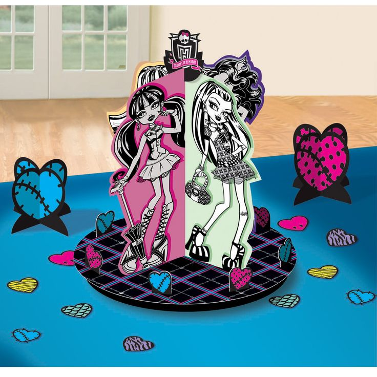 Monster High Table Decorating Kit from BirthdayExpress.com