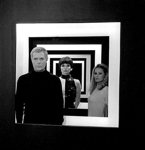 1965 Italian film, The 10th Victim starring Ursula Andress and Marcello Mastroianni.