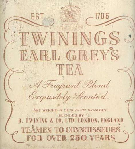 Twinings Earl Grey Tea- just started drinking this daily & LOVE IT!!