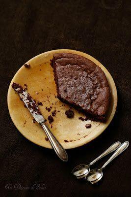 Fondant aux marrons et au chocolat (sans gluten)