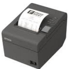 IMPRESORA TICKET EPSON TMT 20 TERMICA USB NEGRA - IMPRESORAS DE TICKET