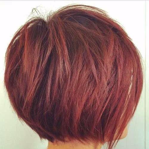 20 Bob Haarschnitte für alle Haartypen, rot gesta…