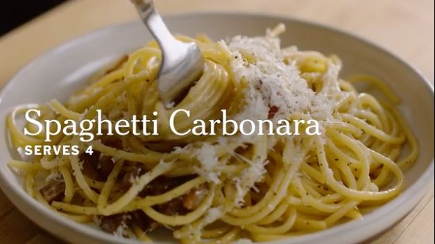 How to make spaghetti carbonara better than any restaurant. —NYT Cooking